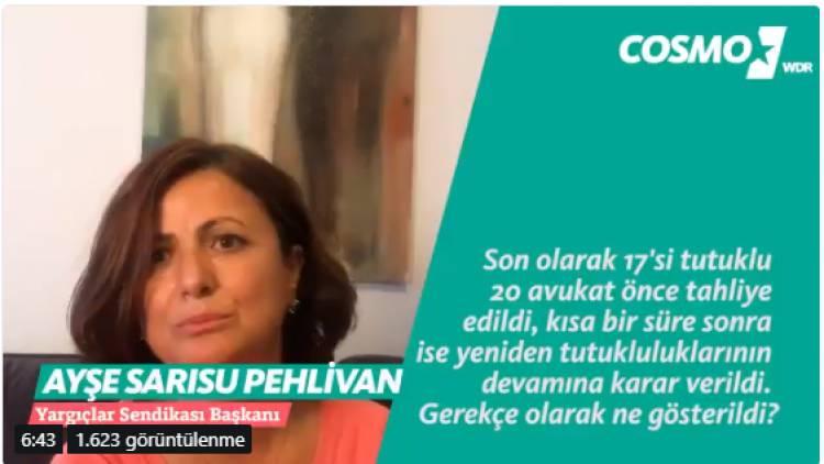 Fulya Cansen #SansürsüzTürkiye için Yargıçlar Sendikası Başkanı ile Konuştu